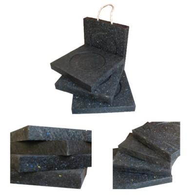 Basi per stabilizzatori, resistenti e riciclabili per carichi severi