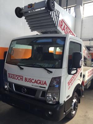 CEM consegna l'autoscala PAUS 33 metri alla ditta Buscaglia Traslochi