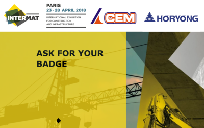 CEM ALL'INTERMAT DI PARIGI CON LE SCALE HORYONG