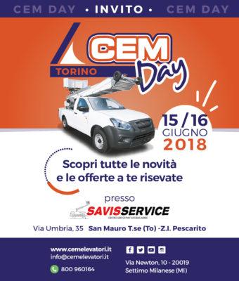 CEM Day di Torino il 15 e 16 Giugno per scoprire le novità CEM