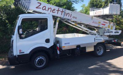 CEM consegna l'Autoscala PAUS 33 metri alla Traslochi Zanettini