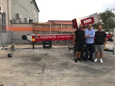 CEM Group consegnata una nuova easy 24 metri alla ditta Ingenito