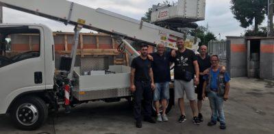 CEM vende una PAUS 33 metri in Puglia alla ditta di Traslochi De Robertis