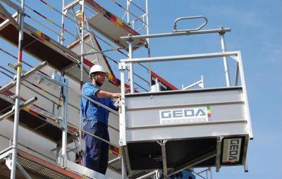CEM Elevadores vende un Carrello Elevatore per l'Edilizia GEDA 200Z in Catalogna