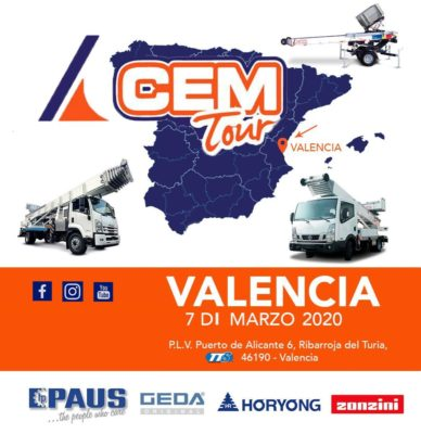 A Valencia tappa spagnola del CEM Tour