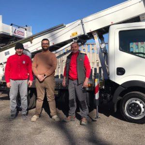 CEM Consegna una nuova PAUS 33 Metri alla ditta Costigliola