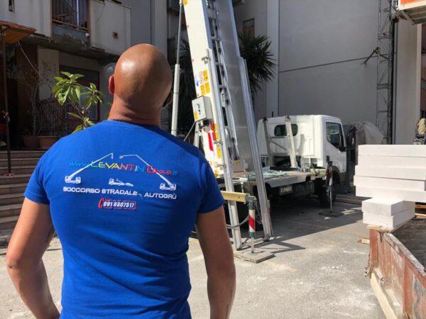 CEM vende una nuova Piattaforma Aerea PAUS 33 Metri alla ditta Levantino group di Palermo