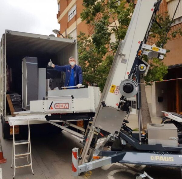 CEM vende una nuova PAUS Easy Big 31 a Valencia