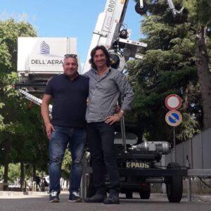 CEM consegna una nuova PAUS Easy 21 all'impresa edile Dell'Aera