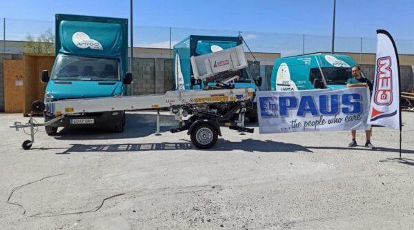Il Gruppo CEM vende una Scala per Traslochi Easy 21 a Madrid