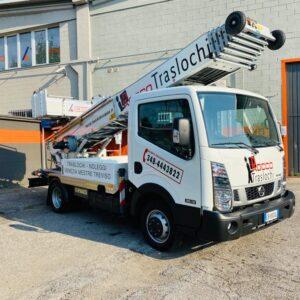 Consegnato un Elevatore per Edilizia PAUS 31 metri alla ditta Rocco Traslochi