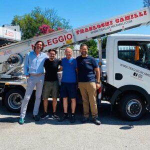 Il Gruppo CEM consegna un Elevatore per Edilizia 31 metri PAUS a Civitanova