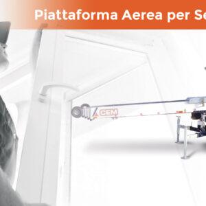 Lanciati verso nuovi orizzonti: una Piattaforma Aerea per Serramentisti e non solo!