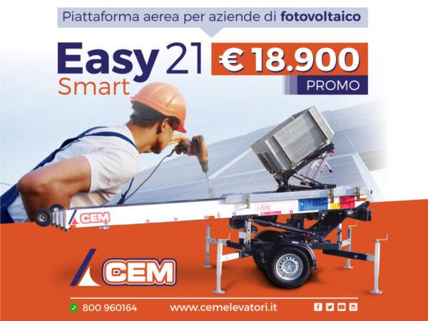 Scala Trainata EASY 21 SMART: nuova arrivata in casa CEM - Promo in atto!