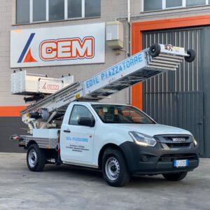 Scale per Edilizia: City Floh PAUS 27 metri consegnata a Edil Piazzatorre