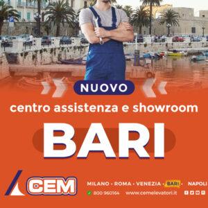 Il Gruppo CEM inaugura una nuova sede a Bari